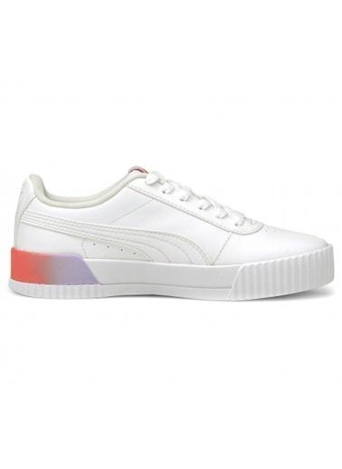 Puma Ayakkabı Carina Summer Fade Jr 36876502 Beyaz
